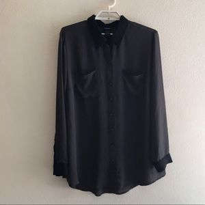 Torrid | Colorblock Hi-Lo Soft Shirt